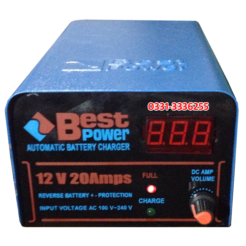 12 Volt 20 Ampere Full Automatic Battery Charger Pakistan 1