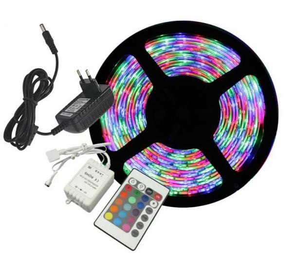 12 Volt RGB LED Strip-1