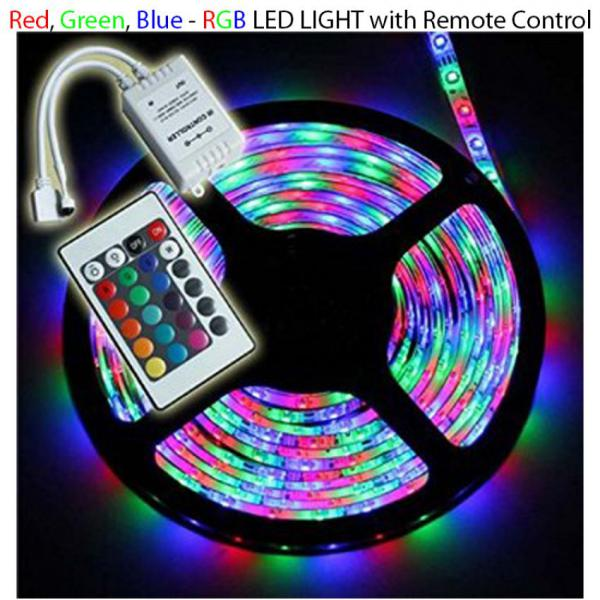 Led Strip Rgb Remote Control Colorful Lights Online