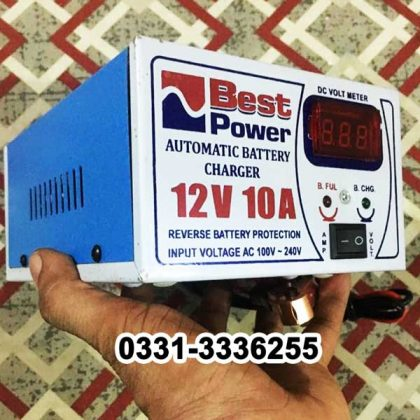 Full Automatic Battery Charger 12 Volt 10 Ampere 2