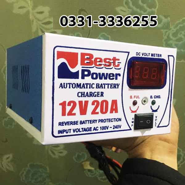 Full Automatic Battery Charger 12 Volt 20 Ampere 1