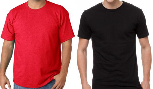 black-red-t-shirt