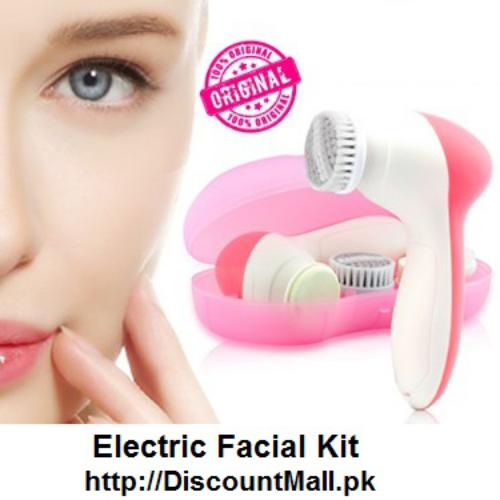 8214ee53a20 Electric Facial Cleanser Kit