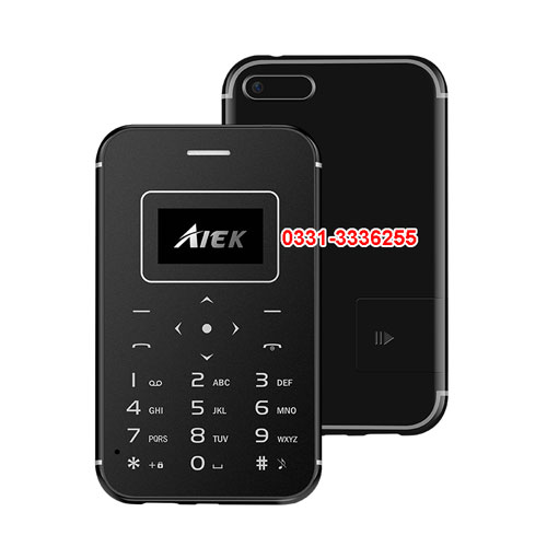 NIC Card Size Mobile With Memory Card Function