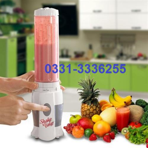 Shake N Take Mini Fruit Juice Mixer Ice Blender