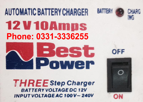 10 Ampere Heavy Duty Battery Charger