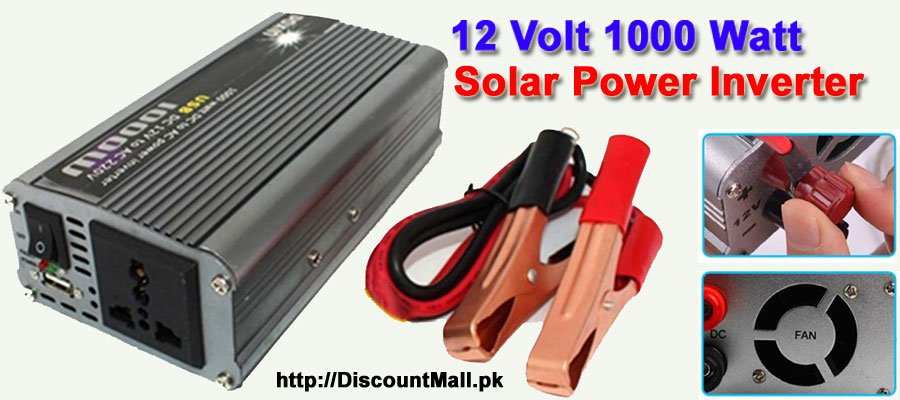 12 Volt 1000 Watt Solar Power Inverter