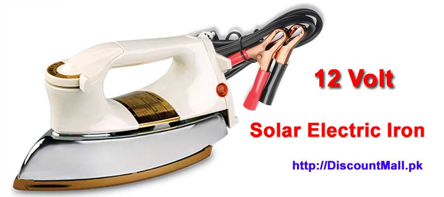 12 Volt Solar Electric Iron