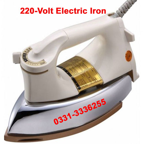 Deluxe Automatic Iron 220v 1000w