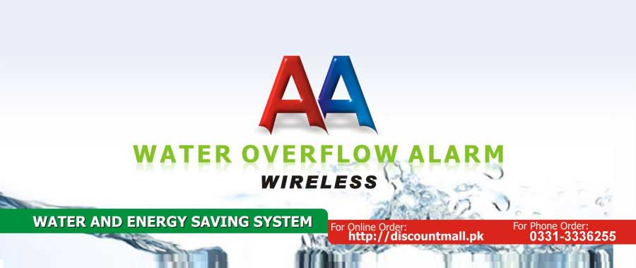 AA Wireless Water Overflow Alarm