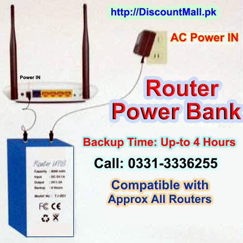 PowerBank For Routers Modem