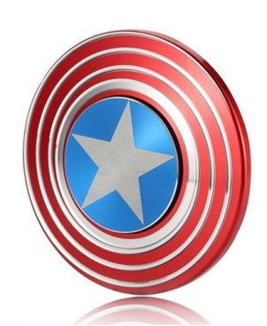 Fidget Spinner Captain America Metal Shield