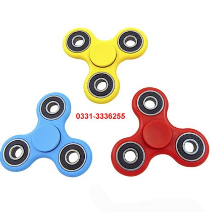 Pack Of 3 Fidget Spinners