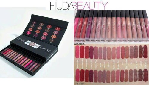 Huda Beauty Liquid Matte Full Collection   16 Shades