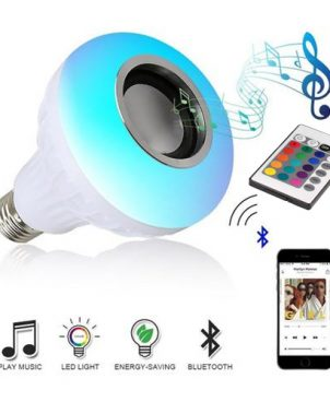 Remote Control Bluetooth Bulb Speaker