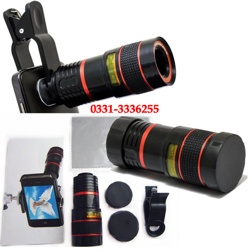 8x Zoom Mobile Lens
