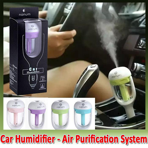 Car Humidifier Air Purification System 1