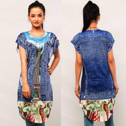 Digital Printed Top DM 203