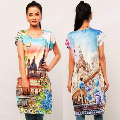 Digital Printed Top DM 204