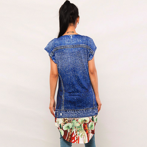 Digital Printed Top   DM Top 203 1