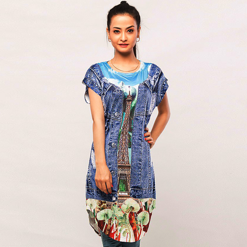 Digital Printed Top   DM Top 203