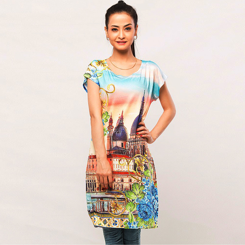 Digital Printed Top   DM Top 204