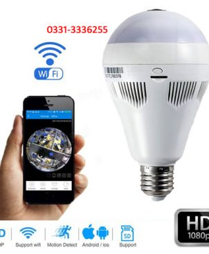 Led Bulb Hidden Wifi IP Camera
