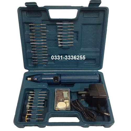 60 Pieces Mini Grinder Rotary Tool Kit