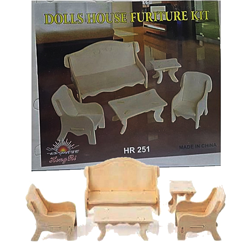 Doll House Furniture Assembly Puzzle Game