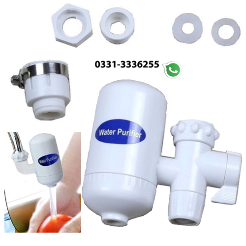 Mini Water Purifier With Ceramic Cartridge Filter 2