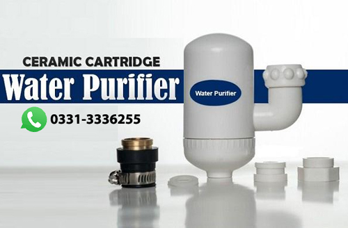 Mini Water Purifier With Ceramic Cartridge Filter 3