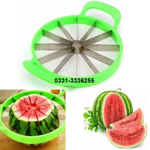 Stainless Steel Watermelon Cutter And Slicer 1