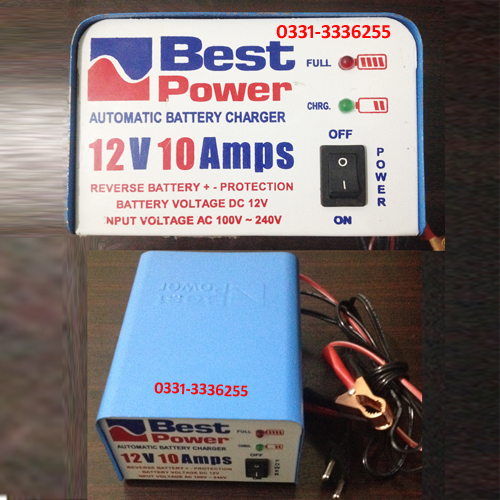 10 Amp New Charger 800 2