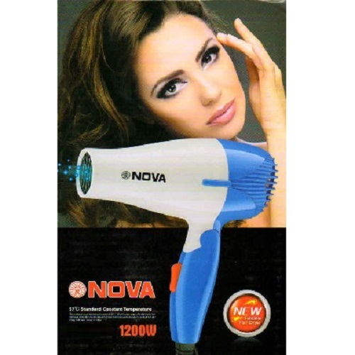 Foldable Hair Dryer For Women (Nova   1200 Watt)   1