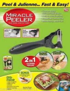 2 In 1 Miracle Peeler Dual Blades