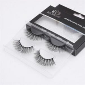 2 Pairs Pack Mink Eyelashes Natural Long