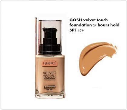 24 Hours Hold Foundation   Velvet Touch Foundation   Shade 3