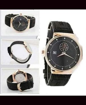 Black Color Watch For Men