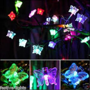 Butterfly Fairy Color Changing Light LED Lights