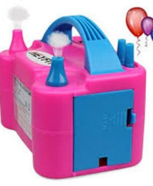 Dual Nozzle High Pressure Electric Balloon Inflator Air Pump