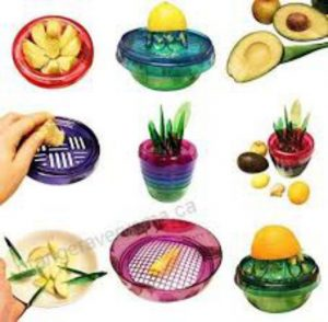 Fruits Plant Cutter Multi Kitchen Tool Set Of 10