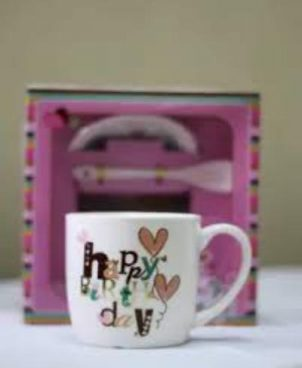 Happy Birthday Mug Tea Cup Tumblers