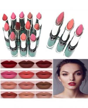 Pack Of 12 Beauty Lipsticks   Multicolor
