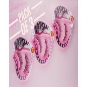 Pack Of 3 Synthetic Eye Lashes