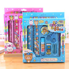 Smile Factory Children's Stationery Set