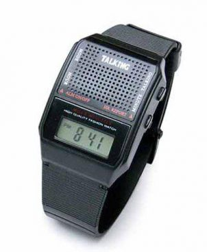 Talking Watch English With Alarm