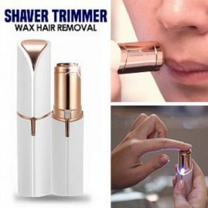 Women Lipstick Shape Shaver Mini Electric Flawless Painless Facial Epilator