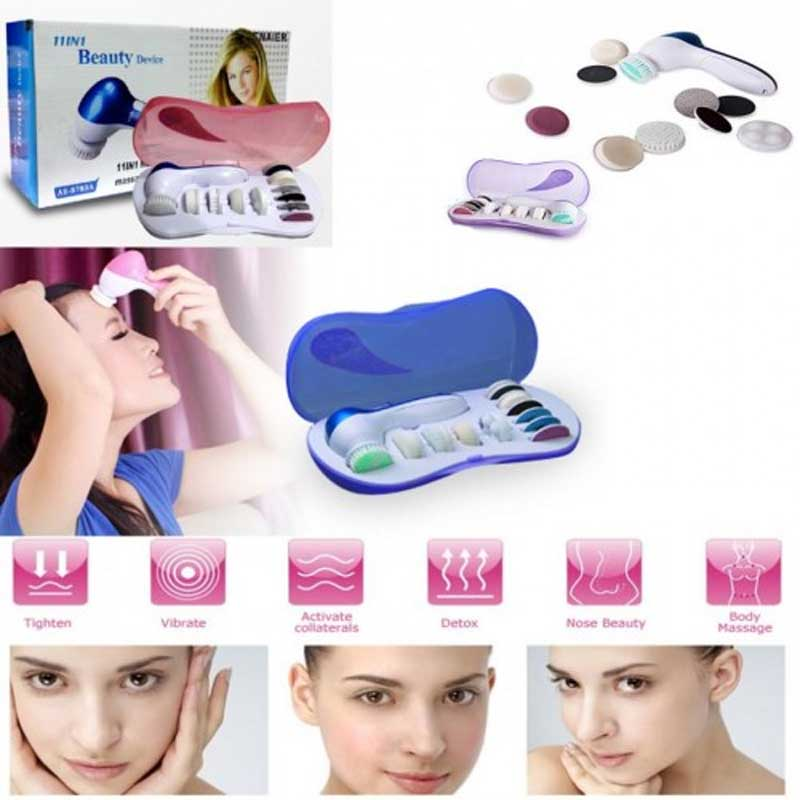 11 In 1 Beauty Device Multi Function Electronic Face Massager 0