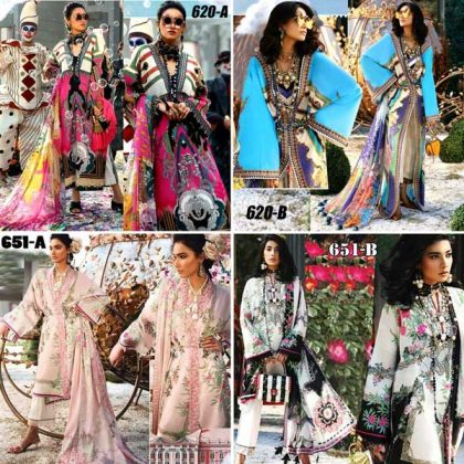 4 Suits Pack Of Embroidery Lawn Suits 2019 Designs 620 A 620 B 651 A 651 B.jpg