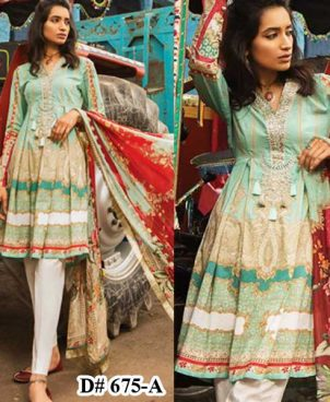 Airjet Lawn Suit With Printed Chiffon Dupatta Lawn Trouser DM MB 675 A 1 1.jpg